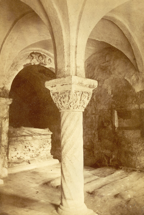 AD 1103, Crypt Under S. Anselm's Tower